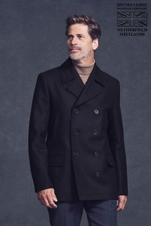 Next Signature Reefer Coat - 190962