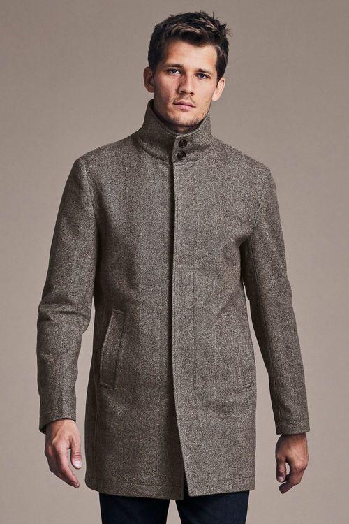 Next Funnel Neck Zip Through Coat