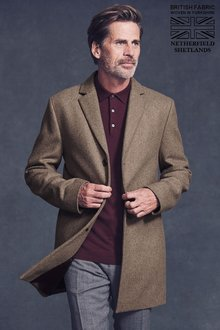 Next Italian Fabric Epsom Coat