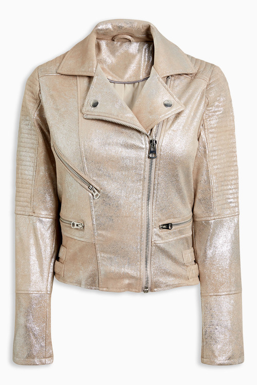 Next Suedette Biker Jacket