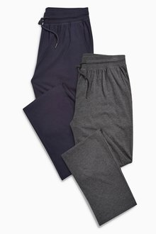 Next Open Hem Long Bottoms Two Pack