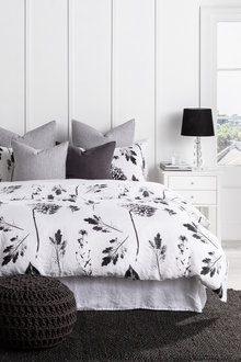 Blume Linen Duvet Cover Set