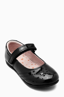 Next Narrow Fit Star Mary Jane Shoes (Older Girls)
