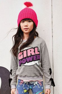 Next Girl Power Sweater (3-16yrs)