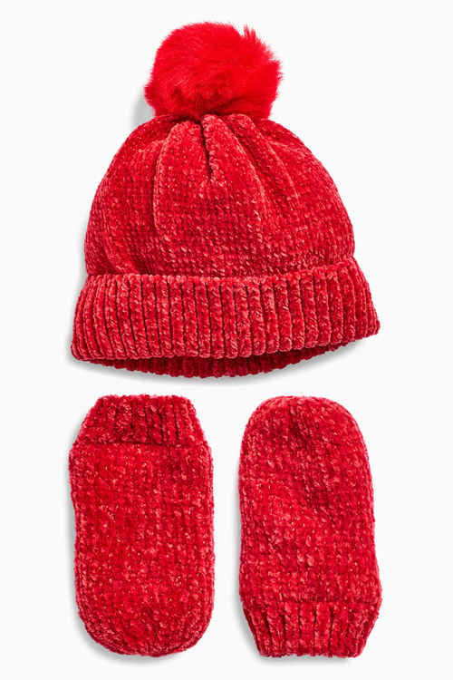 66e8b43c1b8 Next Hat And Mitts Set (Younger Girls) Online