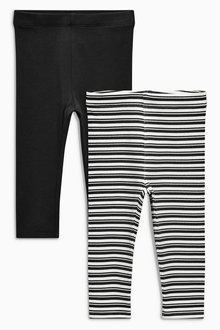Next Stripe Leggings Two Pack (3mths-6yrs)