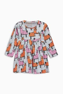 Next Llama Print Long Sleeve Tunic (3mths-6yrs)