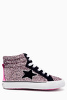 Next Retro High Top Trainers (Younger Girls)