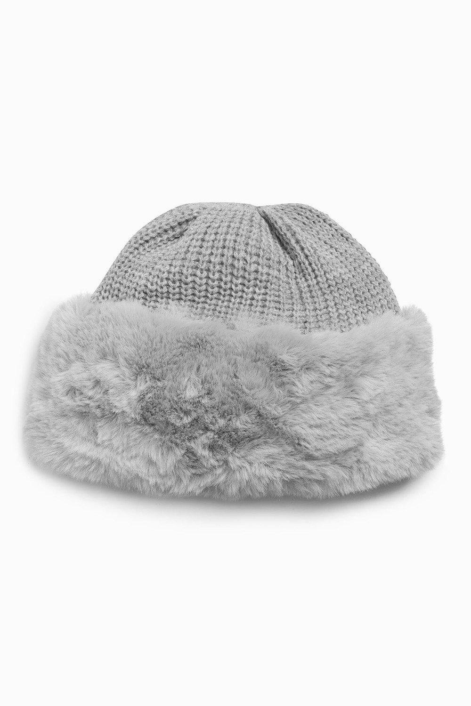 Next Faux Fur Beanie Hat Online  ae8a161a8bc