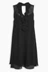 Next Heatseal Ruffle Dress