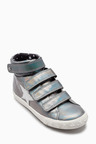 Next Touch Fastening High Top Trainers (Younger Girls)
