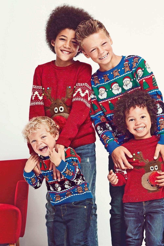Next Christmas Jumpers.Next Reindeer Christmas Jumper 3 16yrs Online Shop Ezibuy