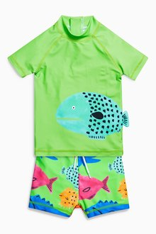Next Fish Two Piece Set (3mths-6yrs)