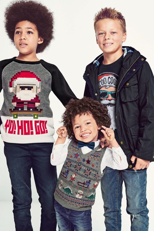 Next Christmas Yo Ho Go Jumper (3-16yrs)