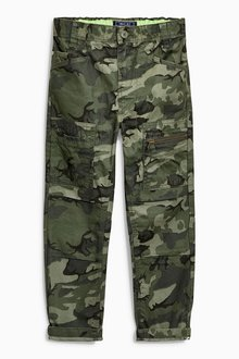Next Camo Trousers (3-16yrs)