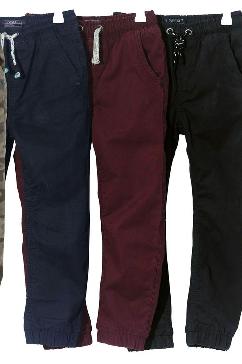 Next Lined Joggers (3-16yrs)