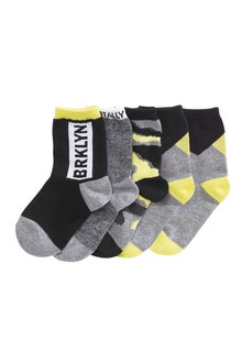 Next Mixed Socks Five Pack (Older Boys)