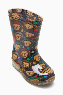 Next Monkey Wellies (Younger Boys)