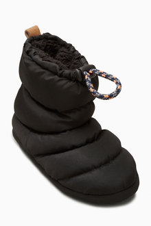 Next Quilted Slipper Boots (Older Boys)