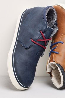 Next Borg Lined Chukka Boots (Older Boys)