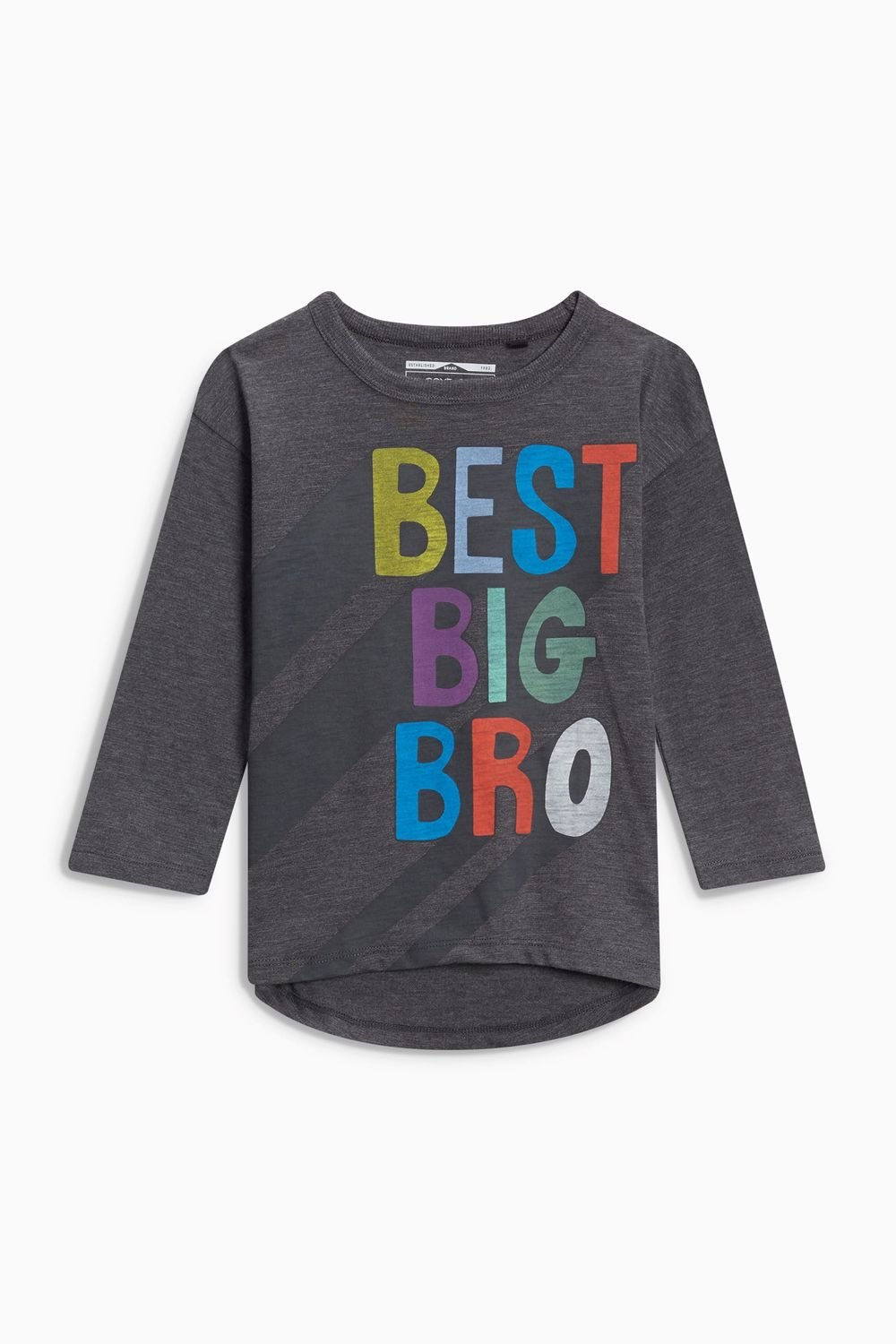 f1e19595 Next Long Sleeve Best Big Brother T-Shirt (3mths-6yrs) Online | Shop EziBuy