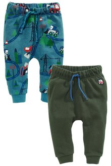 Next Digger Skinny Joggers Two Pack (3mths-6yrs)