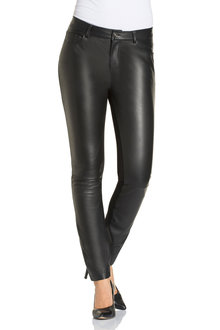Grace Hill Leather Front Pant