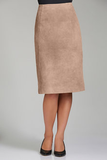 Grace Hill Suede Skirt