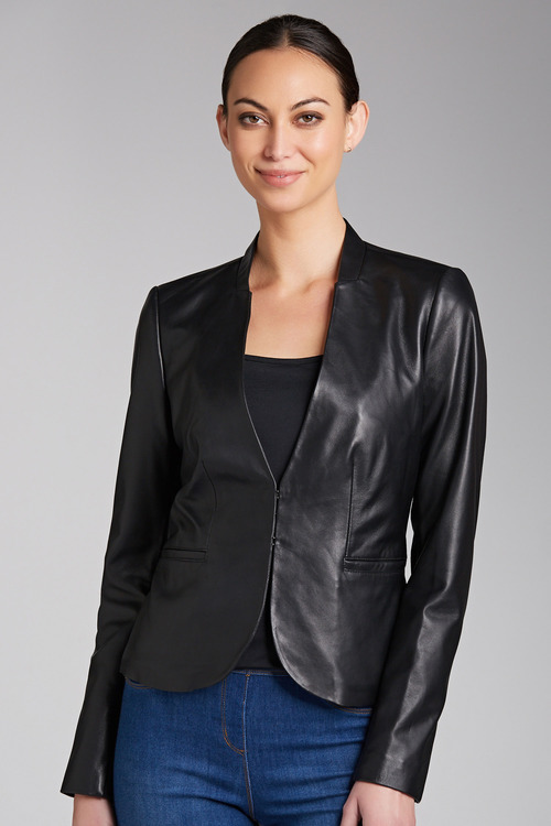 Grace Hill Leather Jacket