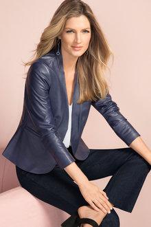 Grace Hill Leather Jacket