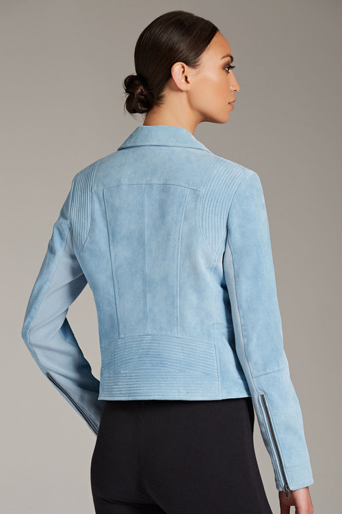 Emerge Suede Biker Jacket