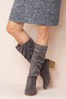 Wide Fit Harvey Slouch Knee Boot