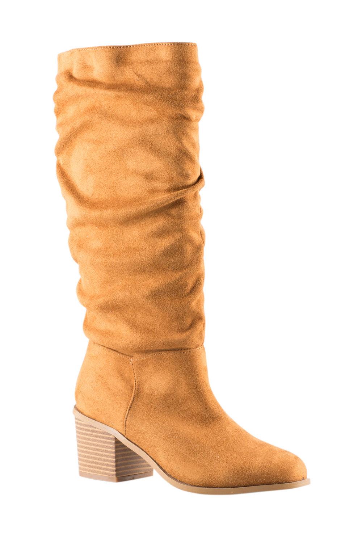 281b8df4566 Wide Fit Harvey Slouch Knee Boot Online