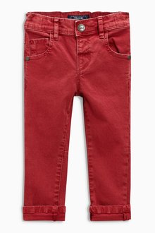 Next Soft Stretch Twill Trousers (3mths-6yrs)