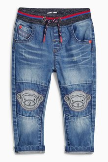 Next Monkey Pull-On Jeans (3mths-6yrs)