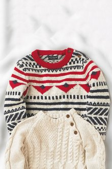 Next Fairslie Pattern Jumper (3mths-6yrs)