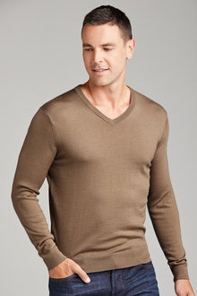 Southcape Merino V Neck Jumper - 192470