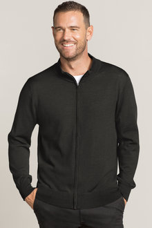Southcape Merino Full Zip Jumper
