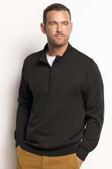 Southcape Merino 1/2 Zip Jumper
