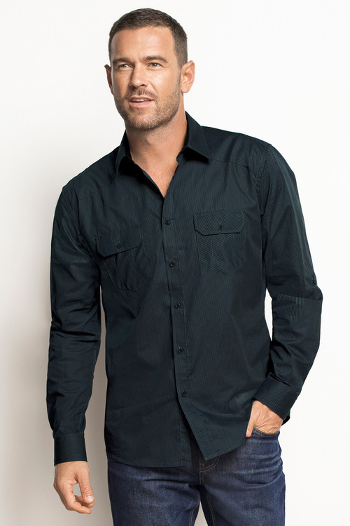 Southcape Double Pocket Regular Fit shirt