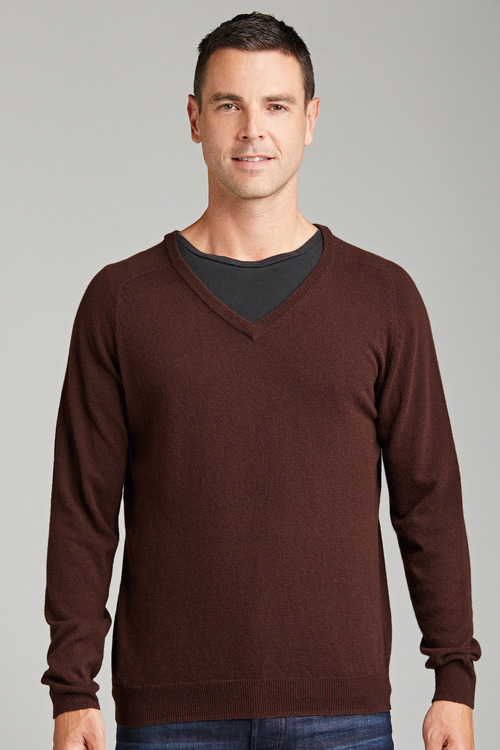Southcape Lambswool V Neck