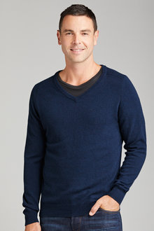 Southcape Lambswool V Neck - 192484