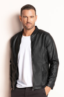 Southcape Faux Leather Jacket