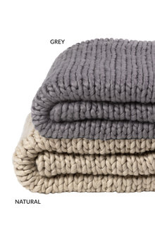 Oslo Chunky Knit Throw