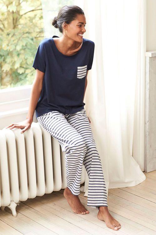 Next Cotton Jersey Pyjamas