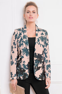 Together Printed Jacket - 192749