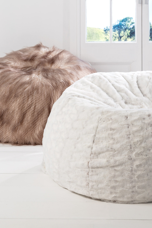 Alpine Faux Fur Beanbag