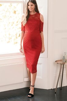 Next Maternity Lace Bodycon Dress