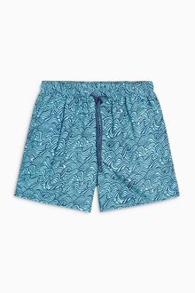 Next Wave Print Swim Shorts