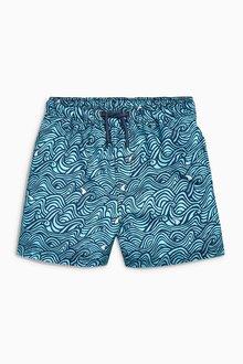 Next Swirl Print Swim Shorts (3mths-16yrs)